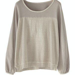 WRAP LONDON Hermione Sweatshirt STONE 12